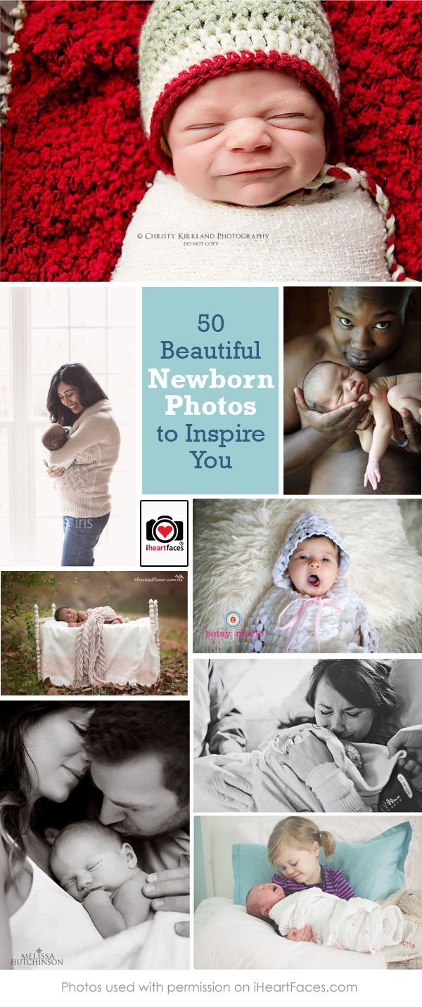 50 Beautiful Newborn Photos to Inspire You #iheartfaces #photography