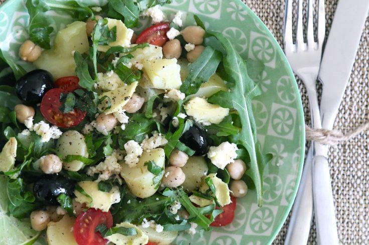 annabelle gourmistas salat rezept von nadja zimmermann annabelle food rezepte pinterest. Black Bedroom Furniture Sets. Home Design Ideas