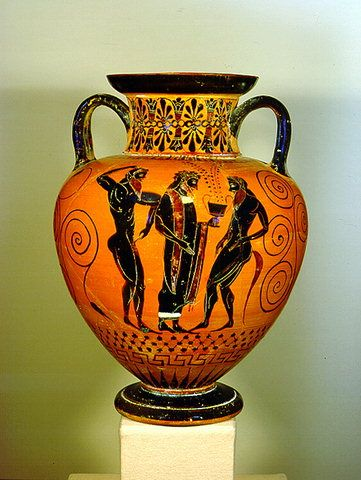 A beautiful &hora vase. A sort of early version of the trophy since ancient athletic & 18 best Greek art u0026 architecture images on Pinterest | Ancient ...