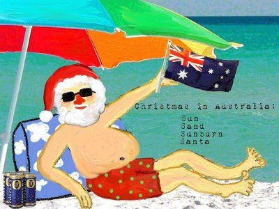 Come to Australia to celebrate and have a Beachy Christmas.