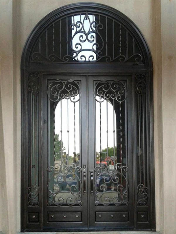 Luxury Wrought Iron Entry Door With Transom And Sidelites China Wrought Iron Door Interior Doors Made Iron Doors Iron Entry Doors Wrought Iron Entry Doors