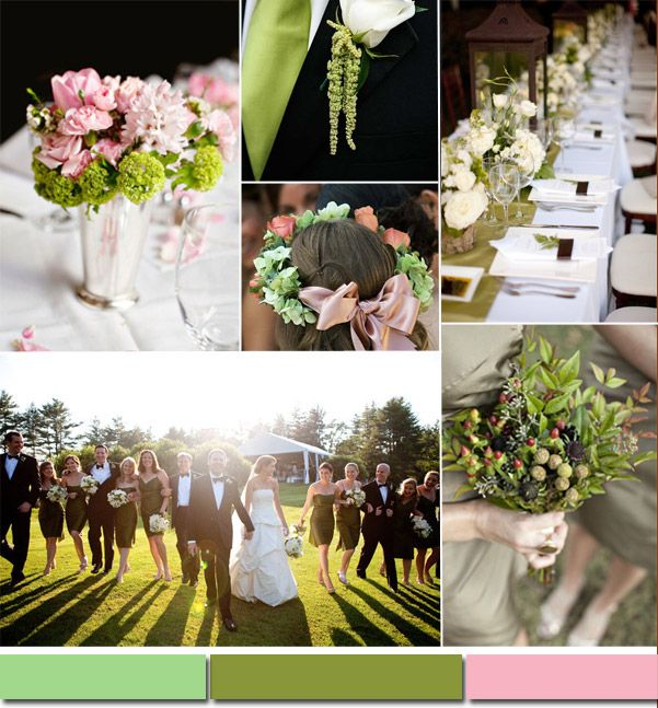 Top 10 Spring/Summer Wedding Color Ideas -Leaf Green #tulleandchantilly