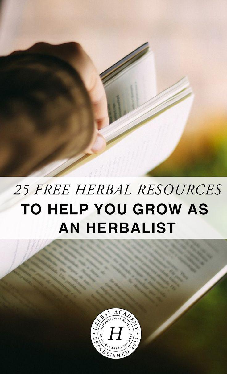 84 best herbalism images on pinterest herbalism herbal medicine 25 free herbal resources to help you grow as an herbalist fandeluxe Images