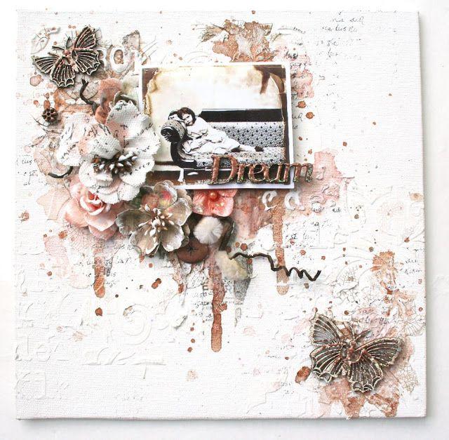 Paper Attic: 'Dream' a new canvas for Scraps of Elegance