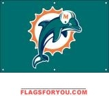 Dolphins Fan Banner 2ft x 3ft