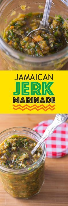 Jerk Marinade-This Jamaican Jerk Marinade recipe is spicy, hot and at the same time sweet. It is a unapologetically hot marinade can transport you to the small beautiful island.