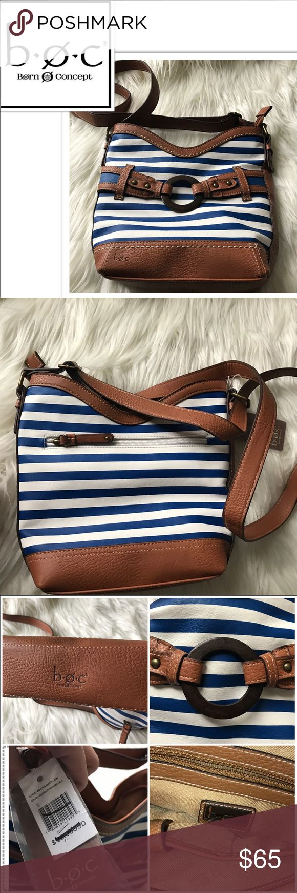 NWT b.o.c. Born Purse Adorable nautical purse from Born. New with tags. Received as a gift, but too small for me. Open to offers  20% discount on bundles! Born Bags Crossbody Bags