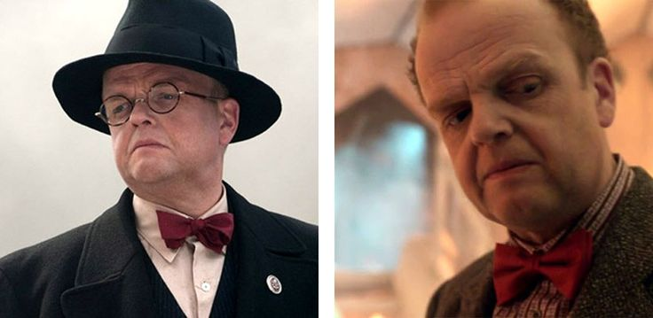 Toby Jones as Dr. Arnim Zola in Captain America: The First Avenger/Captain America: The Winter Soldier and as the Dream Lord in 'Amy's Choice'