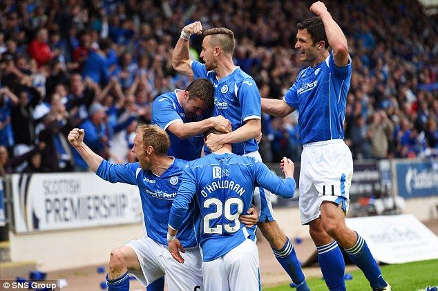 St Johnstone 2-1 Alashkert (agg 2-2): Michael O'Halloran and Brad McKay's strikes not enough as Saints crash out of Europa League on away goals | Daily Mail Online