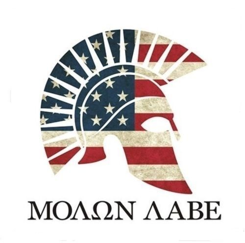 Beautiful Molon Labe Decal Ideas On Pinterest Molon Labe - Motorcycle helmet decals militarysubdued american flag sticker military tactical usa helmet decal
