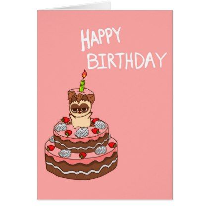 Happy BirthDay cats Card - birthday cards invitations party diy personalize customize celebration