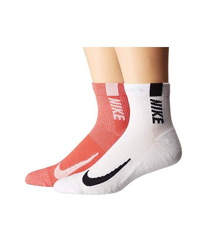 Bourgeon Ladrillo Peladura  Nike Multiplier Running Ankle Socks 2-Pair Pack | Running ankle socks,  Ankle socks, Socks
