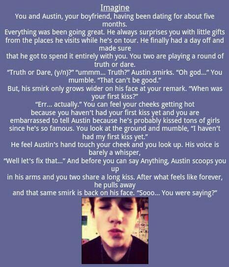 Austin Mahone imagines! I wish this would happen... C;