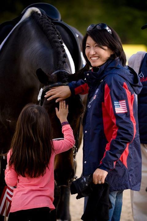 Ravel The owner Akiko Yamazaki and her daughter thanked Ravel after his bronze medal-winning performance at the 2010 Alltech FEI World Equestrian Games. Shannon Brinkman captured the moment on film. Nanna had a privilege to make a piece of jewelry of Ravel's hair.