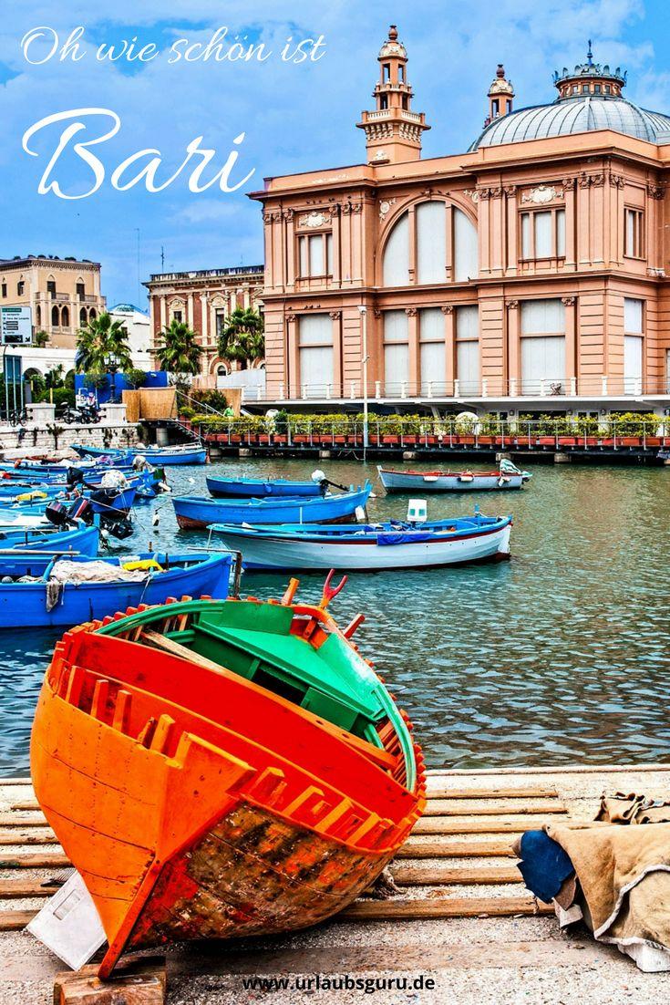 Lernt in meinem Resiemagazin die italienische Hafenstadt Bari kennen und lieben! Mit meinen Reisetipps und Inspirationen wird euer Urlaub in Apulien eine Runde Sache!