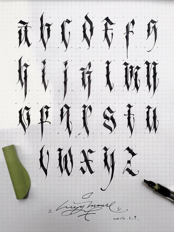 Best abecedarios images on pinterest fonts letter