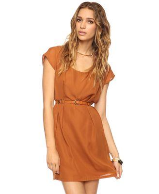 Pleated Zipper Back DressShoes, Fashion, Back Dresses, Style, Orange Dresses, Clothing, Khaleesi Wear Pleated, Forever21, Wear Pleated Zippers
