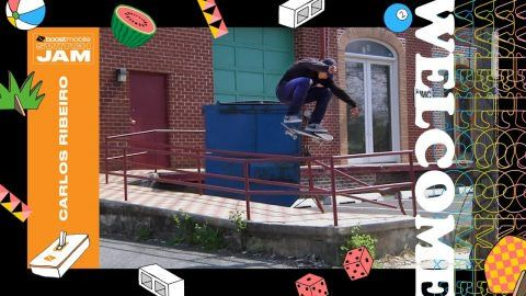 Boost Mobile Switch Jam: Carlos Ribeiro | Dew Tour: Dew Tour – At a young age Carlos Ribeiro jumped right into learning how to skate switch…