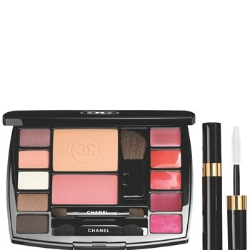 Chanel Makeup TRAVEL MAKEUP PALETTE MAKEUP ESSENTIALS WITH TRAVEL MASCARA (DESTINATION Shade)