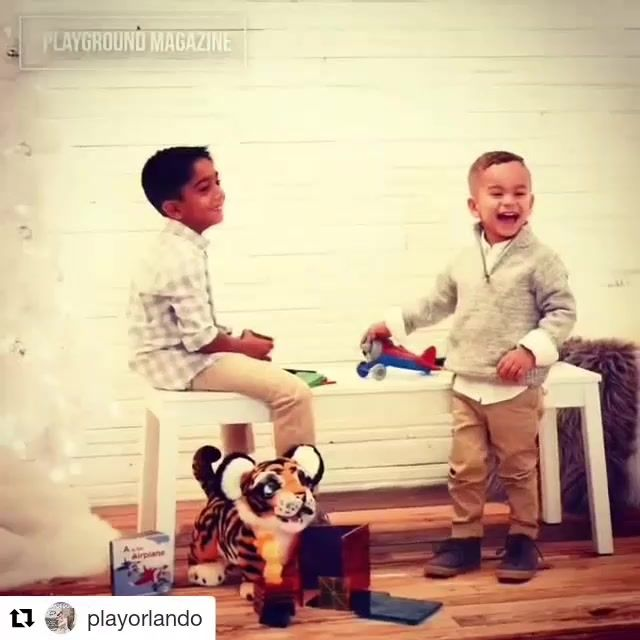 #Repost @playorlando (@get_repost)  Take a look #behindthescenes at our gift guide photo shoot. Check out the full video on http://ift.tt/2zSwkQl See the photos on our website: Playground-magazine.com . . . #holiday #giftguide #christmasgift #hanukkah #kidsfashionfeatures #kidapproved  #published #fingerlings #thecreatorclass #advertising #agencylife #studio #kidsclothes #kidsfashion #holidayfashion #childmodel #familyfun #miamimodels #trendykiddies #kidsofig #photographerlife…