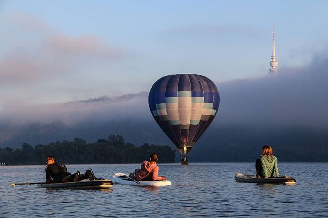 We want to know, what are your top things to see, do, taste, try and experience in Canberra before the end of the year? Should they be added to the #CBRbucketlist? Photo by Paul Jurak, the @Kayakcameraman. #visitcanberra