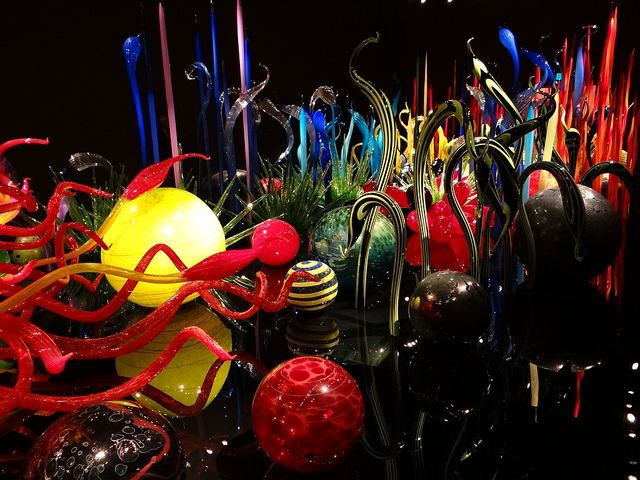 chihuly glass museum seattle   Chihuly Garden & Glass Museum, Seattle   Flickr - Photo Sharing!