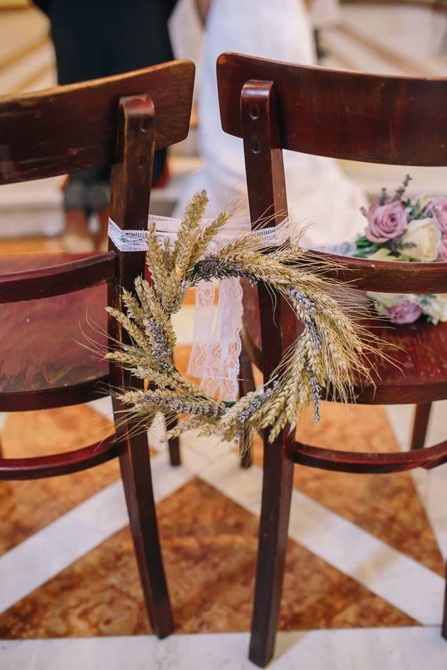 Wreath (lavander, wheat); venček (sivka, pšenica)