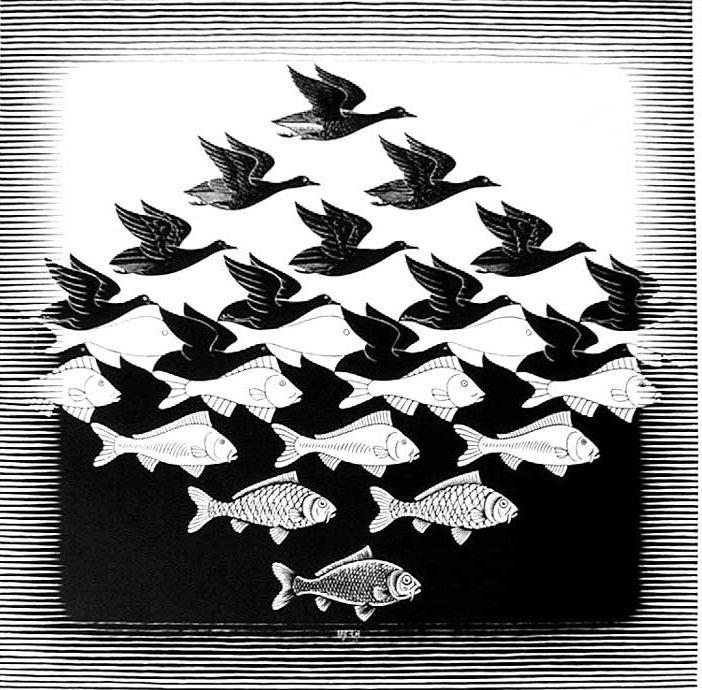 510 best Escher, Maurits Cornelis images on Pinterest | Optical ...