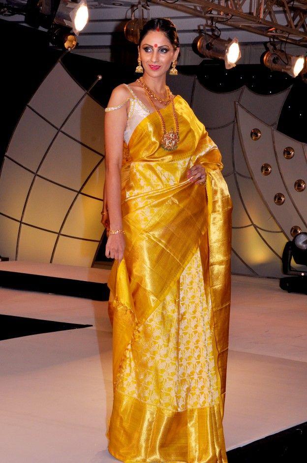Gaurang- Kanjeevaram Saree never goes out of fashion