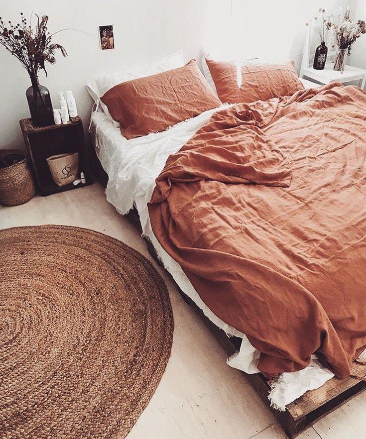 Bettbezug aus Leinen   – African Home Decor