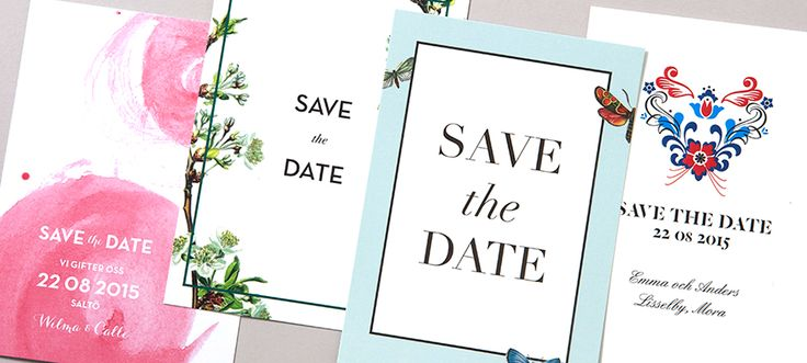 Save the Date - www.postedwithlove.com