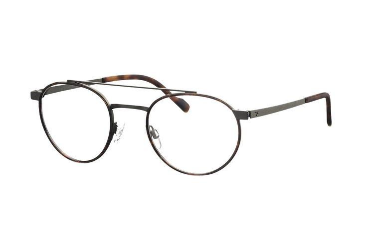 TITANflex 820748 30 Brille in dunkelgun matt/havanna | Die Korrektionsbrillenbrillen von TITANflex zeichnet sich durch eine moderne, schlichte Form aus. Die Brillenbügel unterstützten die Fassung hervorragend. Durch das geringe Gewicht und die hochwertige Verarbeitung lassen sich diese...
