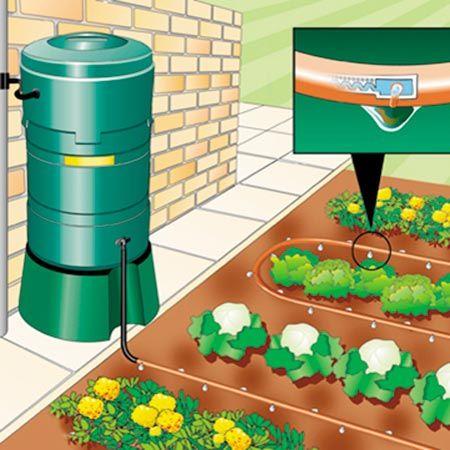 Water Butt Irrigation System