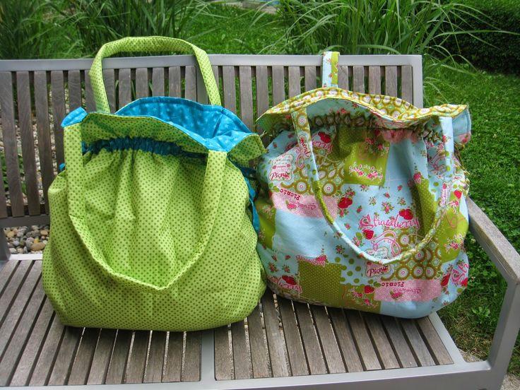 Stoff und Stempel Strandtaschen