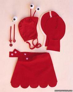 Lobster Halloween Costume How-To   via Martha Stewart #halloween2013