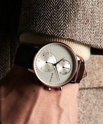 おしゃれな彼に使って欲しい!北欧デザインの腕時計集めました | キナリノ