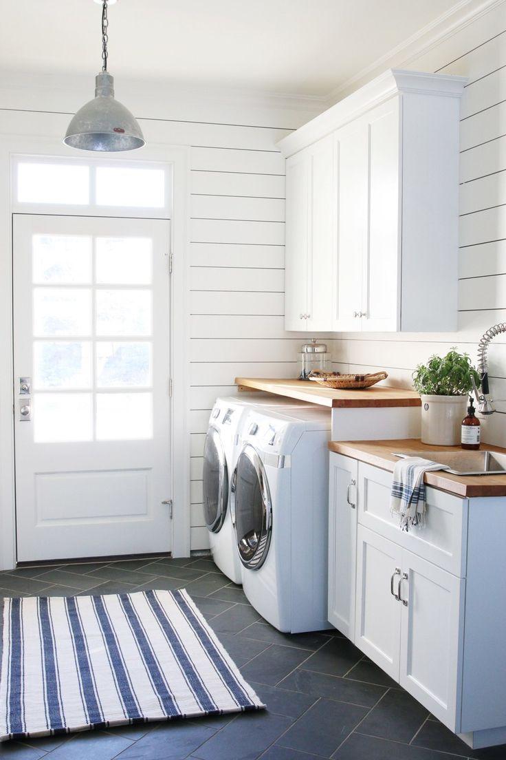 736 × 1104 - Modern Farmhouse Laundry Room