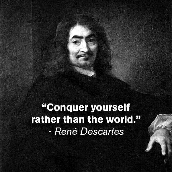 Rene Descartes - incredible intelligence! | Inspirational | Philosophical quotes, Wisdom quotes, Quotes