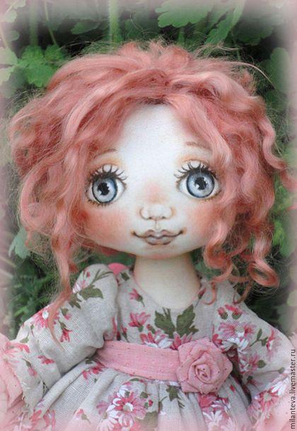 Коллекционные куклы ручной работы. Заказать Агата.Кукла текстильная.Меня купили.. Подарки с душой. Ярмарка Мастеров. Кукла