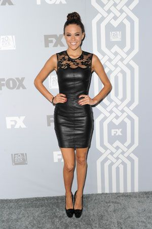 Jana Kramer's All-Over Body Toner : The country singer shows off how she stays svelte -- and pulls off a leather dress like this! #SelfMagazine