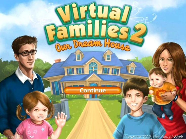 Virtual Families 2: Our Dream House Walkthrough