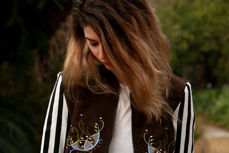 #jacket #bomber #white #brown #black #outwear
