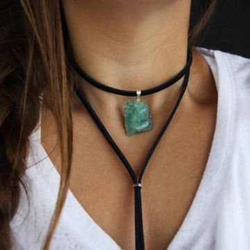 Colar Choker Emerald - superfluous