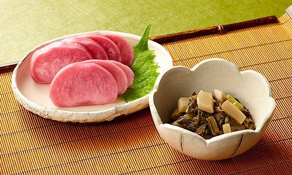 【接待の手土産】つけもの茶屋信州木曽のすんき漬・赤かぶ漬セット