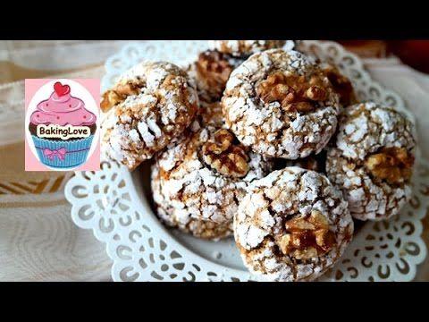 Geniales Mandelgebäck mit Walnüssen I marokkanische Kekse I Ghoriba - YouTube