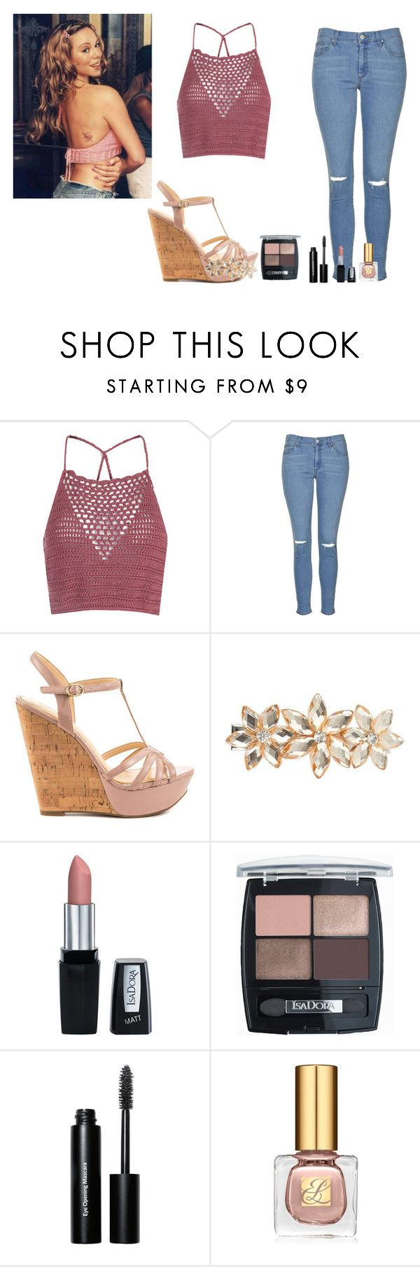 """Mariah Carey Heartbreaker"" by akgsteeler ❤ liked on Polyvore featuring Glamorous, Mariah Carey, Topshop, Jessica Simpson, Dorothy Perkins, Isadora, Bobbi Brown Cosmetics and Estée Lauder"