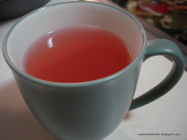 Apple Honey Tea:  Are you peeling a bunch of apples? Save those peels! You can make a delicious tea.