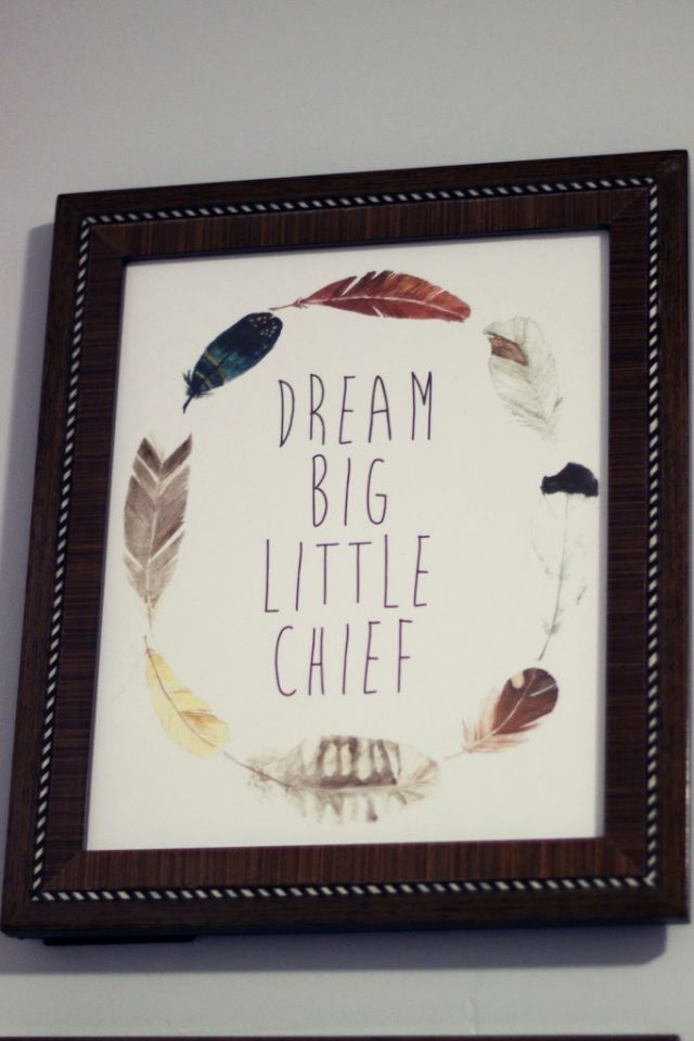 Dream Big little chief www.mymommstyle.com nursery