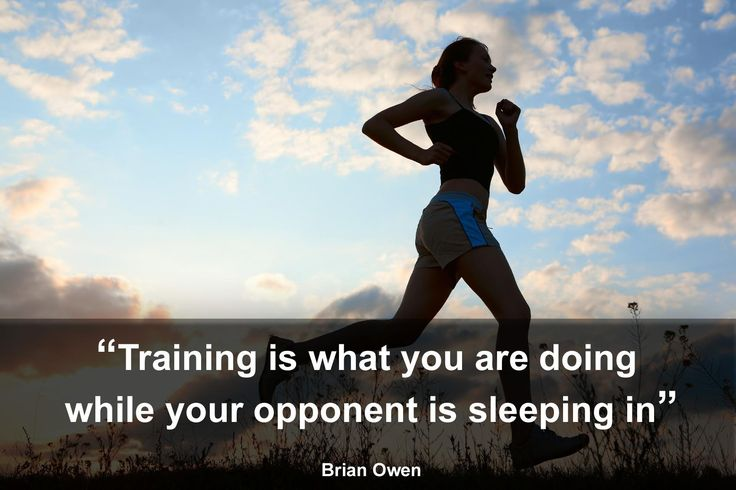 What motivates you to get up in the mornings while the sun is still asleep, and vigorously train?