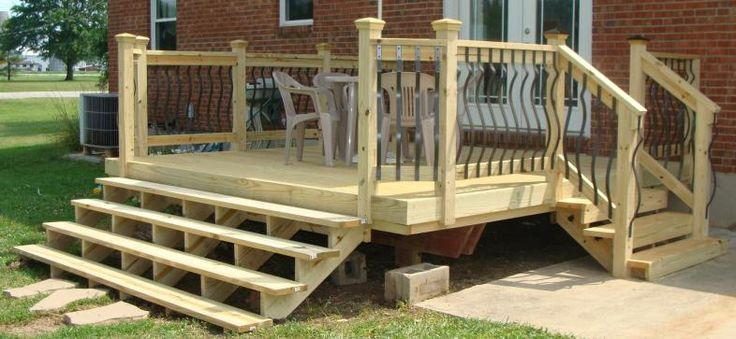 Best Back Porch Step Deck The Decks To Your 400 x 300